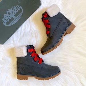 "Timberland Jayne 6"" WP Convenience Dark Grey Boots"